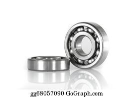 Clipart white shafts gears and bearings stock for Red wing ball bearing ac motor