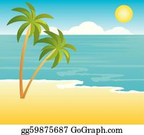 Vector Art - Dirty beach volleyball poster. Clipart ...