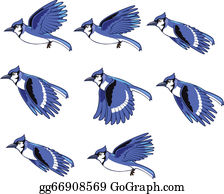 Blue Jay Animation Sprite