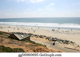Carlsbad California beaches.