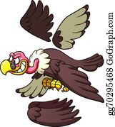 Cartoon vulture
