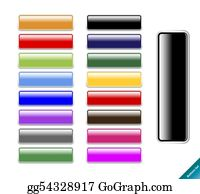 Collection of multi colored glossy internet buttons. Easy to edit, any size, aqua web 2. 0 style.