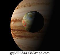 Astronomy - Jupiter And Io