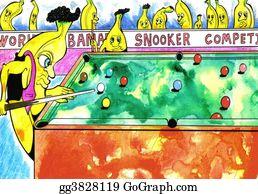 Billiards - Banana Snooker