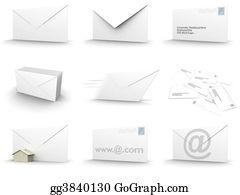 Air-Mail-Stamp - Envelope Collage