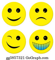Sad - Four Emoticon Friends