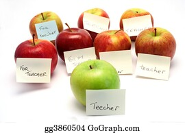 Teacher - Apples For Teacher
