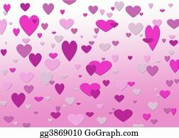 Pink-Rose - Pink Hearts