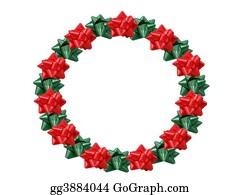 Bows - Christmas Wreath
