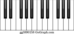 Music-Notes-On-Piano-Keyboard - Keyboard