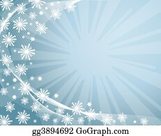 Snowflake - Winter Background