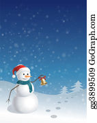 Blue-Bell - Christmas Greeting Card (1)