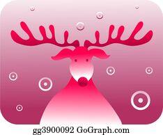 Antler - Retro Rudolf
