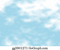 Blue-Sky - White Clouds