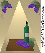 Vine - Wine Bottle