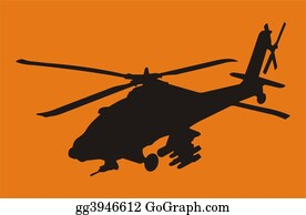 Helicopter - Apache Helicopter