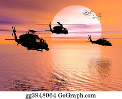 Helicopter - Army Helicopter, Blackhawk