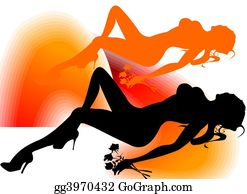Erotic - Woman Silhouette
