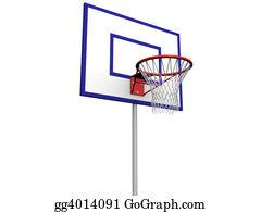Basketball-Hoop - Basketball Pole