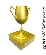 Bowling-Trophy - Golden Trophy 1