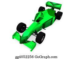 Race-Car - F1 Green Car Vol1