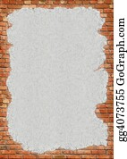 Wall-Background - Brick Wall Grungy Frame