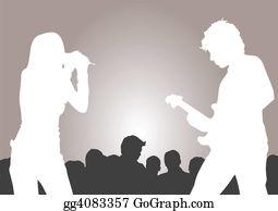Singer - On The Concert