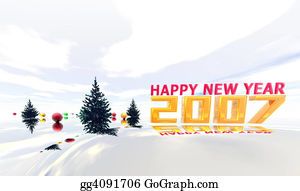 Fir-Tree - Happy New Year 2007