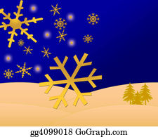 Falling-Snow-Background - Christmas Scene