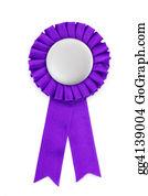 Badge - Purple Award Ribbons Badge