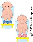 Baby-Girls - Potty Baby