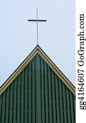 Church-Building - Cross