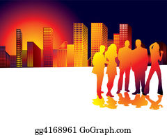 Group-Of-People - Sunset City