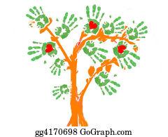 Plantation - Green Tree Handprint