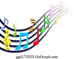 Musical-Notes - Colorful Music Notes