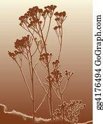 Herbs - Silhouette Of Herbs