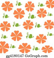 Wrap - Orange Flowers Wrap