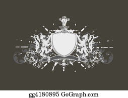 Badge - Heraldic Shield
