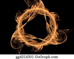 Ring-A-Ring - Magic Fire Flame - Fantasy 3d Art