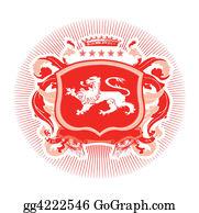 Royal-Lion - Heraldic Shield