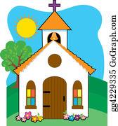 Church-Building - Small Country Church