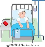 Sad-Child - Man In Hospital Bed