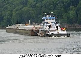 Labor-Union - Tugboat & Barge 4