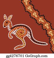 Australia - Aboriginal Style Background