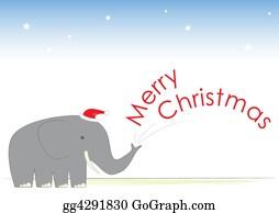 Mr-And-Mrs - Christmas Elephant Merry