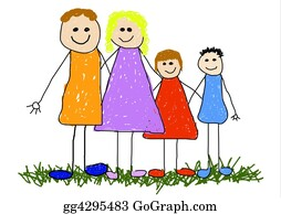 Illustration-With-Happy-Family - Family Unit