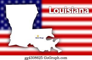 Rouge - Louisiana State Contour