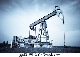 Fossil - An Oil Pump Jack