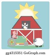 Chicken - Farm Graphic