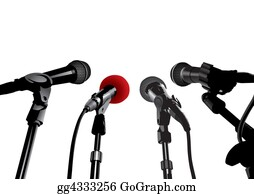 Public-Speaking - Press Conference (vector)